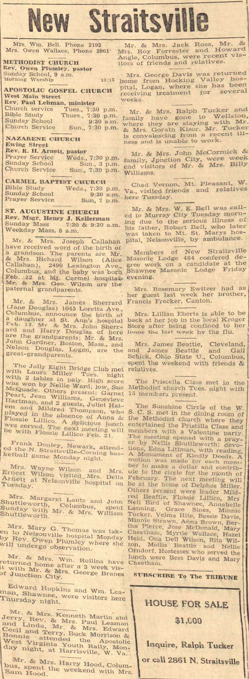 new straitsville Find new straitsville oh obituaries archives new straitsville ohio obituaries death notices funeral home obituaries in new straitsville oh.